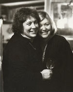 Beth Allen and Jane Chambers